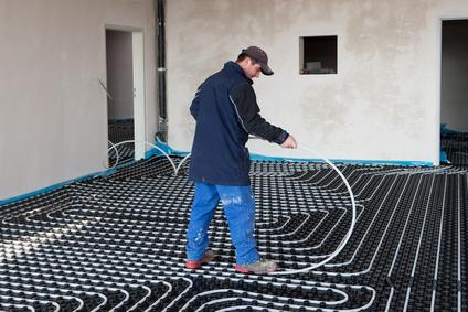 Die Fußbodenheizung – so wird sie verlegt