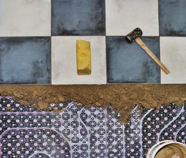 Die Fußbodenheizung – das richtige Ausbringen der Ausgleichsmasse