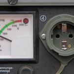 Teilansicht eines Stromgenerators