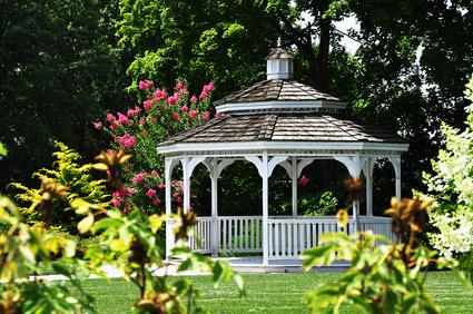 Einen Pavillon selbst bauen