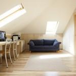 Wohnung mit Dachschrägen