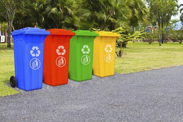 Selbst gemacht: Natürliche Mülltonnenverkleidungen