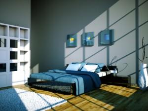 Bett-Podest im Schlafzimmer bauen – eine Anleitung